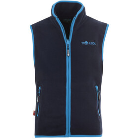 TROLLKIDS Arendal Vest Kids, navy/light blue